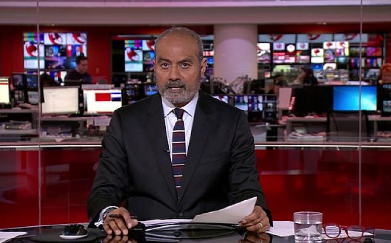 Alagiah was diagnosed with bowel cancer back in 2014. Credit: BBC