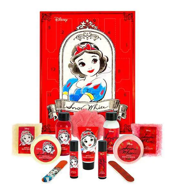 The Snow White beauty advent calendar has been reduced to £7. (Credit: Superdrug)