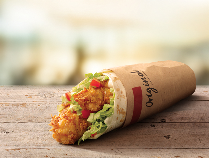 A Twister from KFC could be yours for £2.50. Credit: KFC
