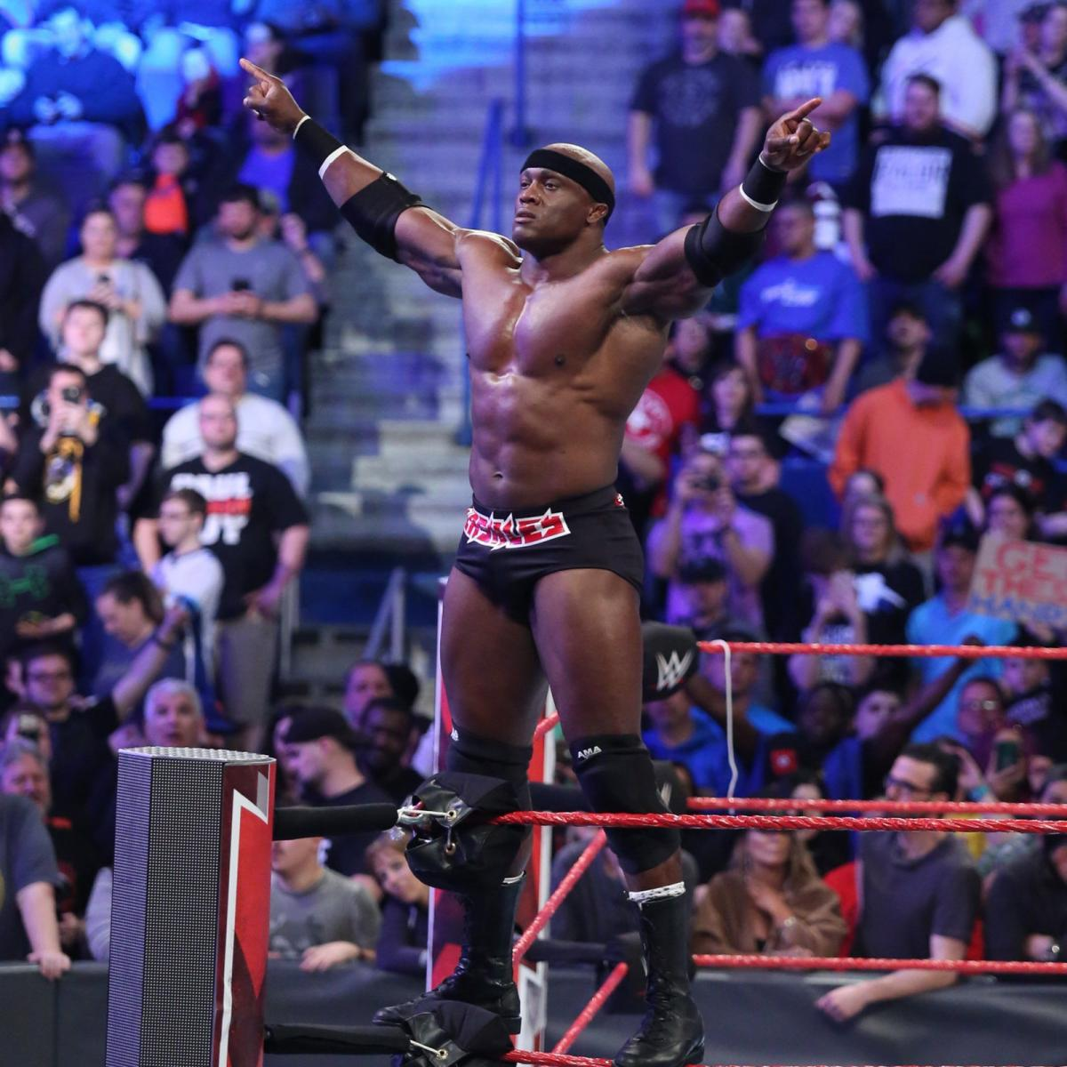Bobby Lashley in the ring [Credit WWE]