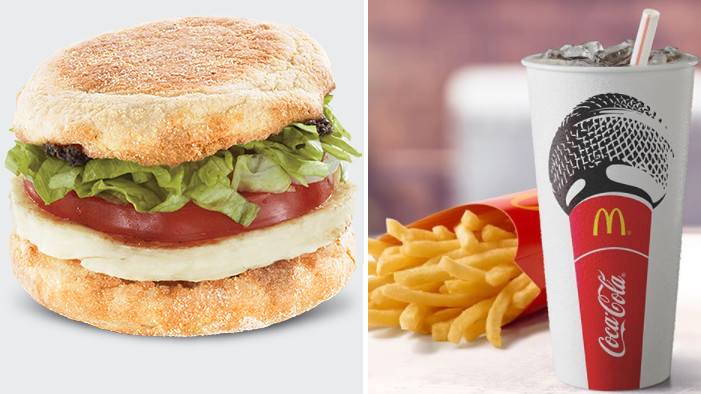 McDonald's Is Now Selling Halloumi Muffins And Yum