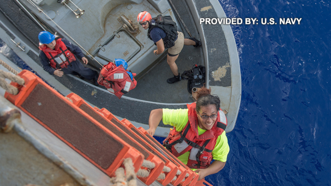 Rescued Sailors Return to Land After Five-Month Ordeal