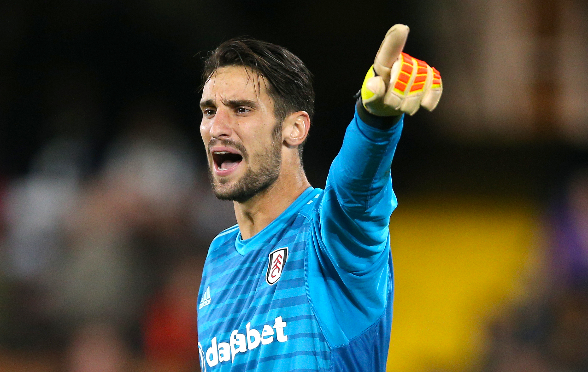 Hold on, what's Sergio Rico doing in here? Image: PA Images