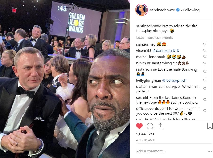 Idris Elba Enlists Daniel Craig for Latest James Bond Joke