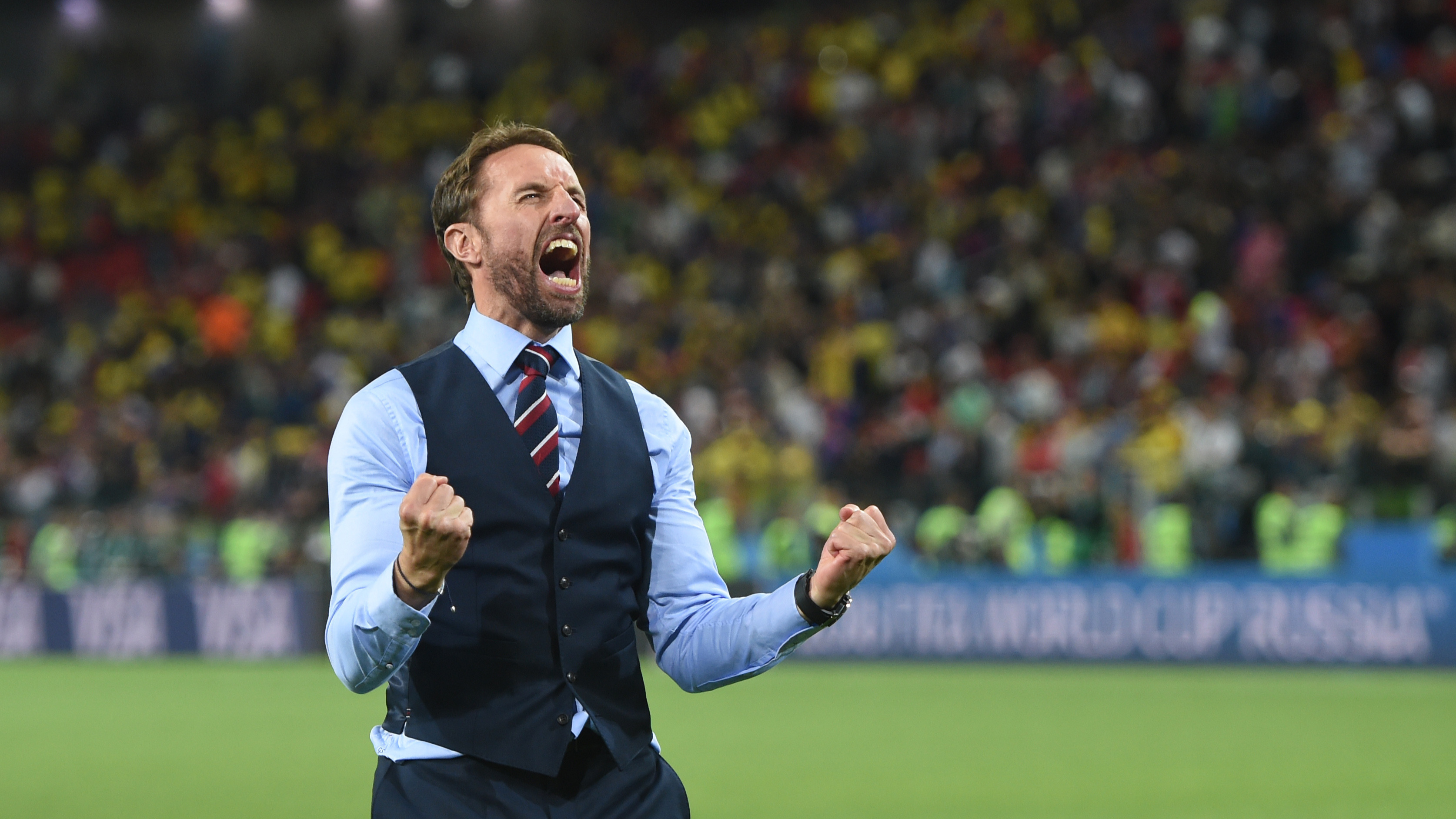 Photoshopped Custom Waistcoat Worn By Gareth Southgate Goes Viral