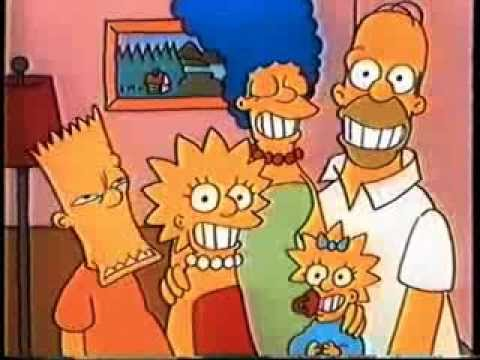 The Simpsons looked markedly different in the show's early days. Credit: Fox