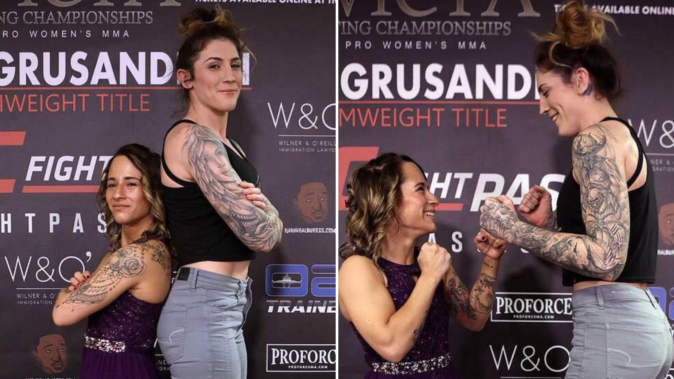 the size difference between an mma atomweight and featherweight is ridiculous sportbible sportbible