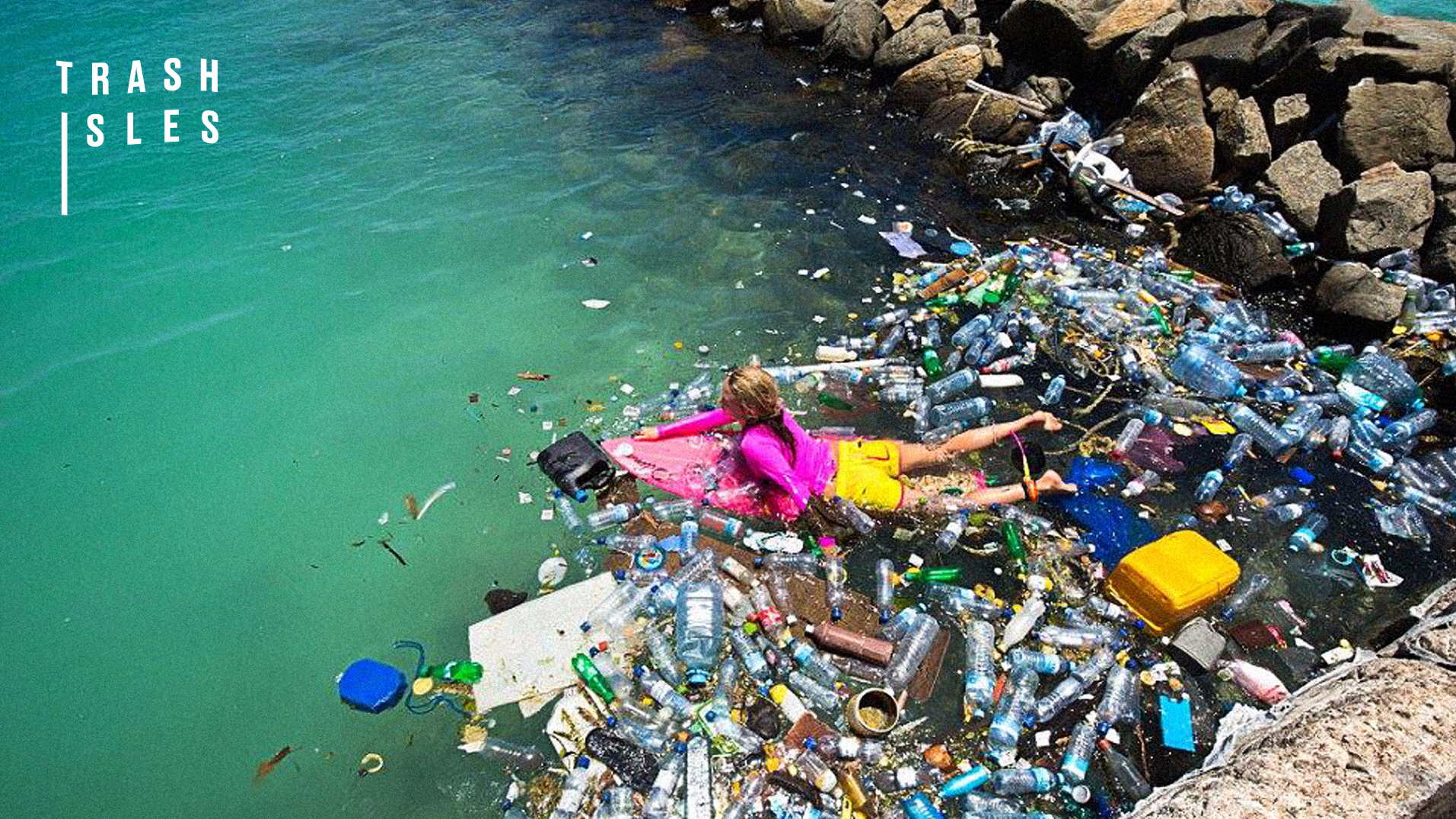 This LAD Surfed To A Plastic Waste Island And It Was Grim