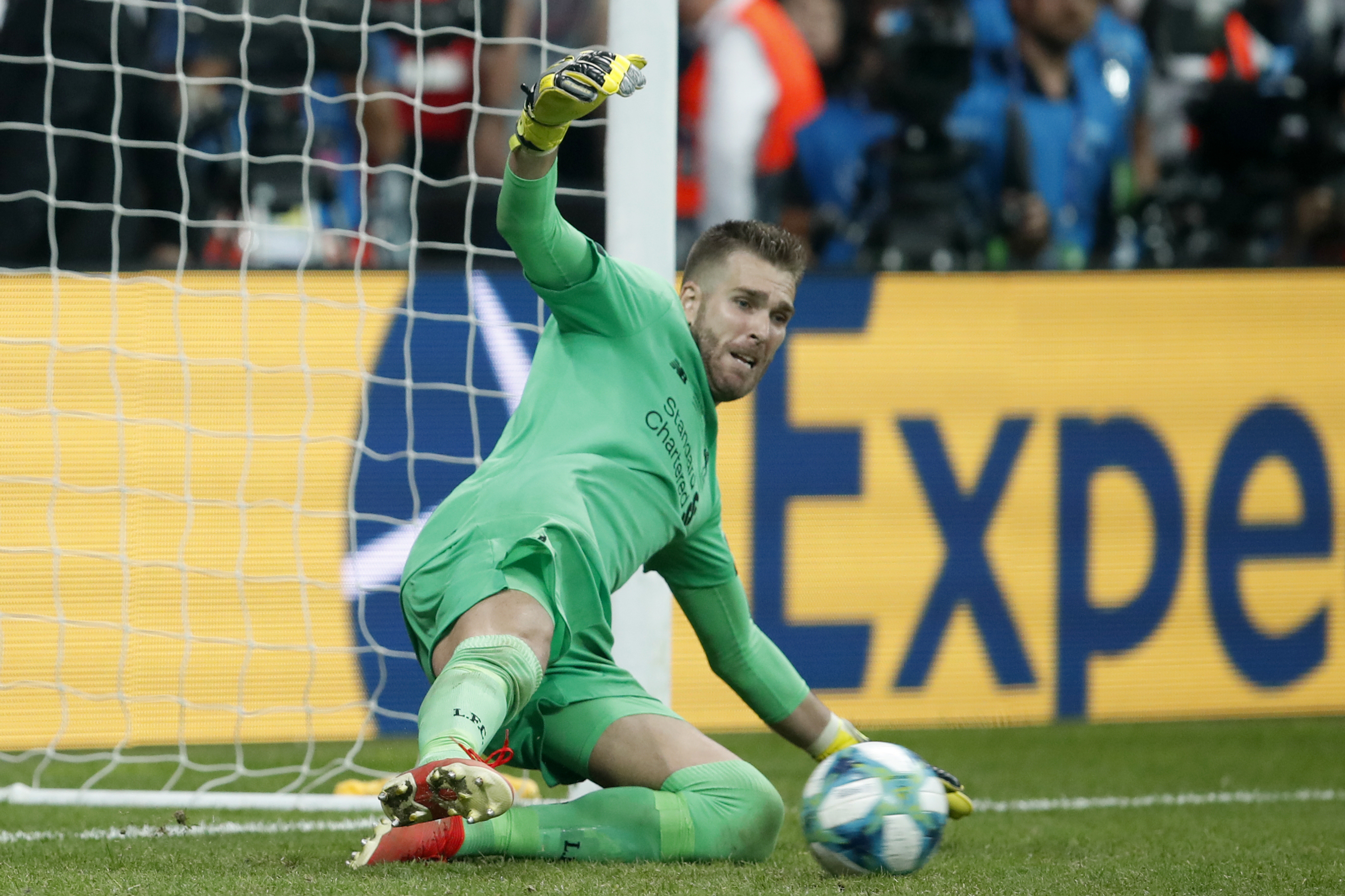 Adrian saved Tammy Abraham's penalty to give Liverpool a 5-4 win on penalties