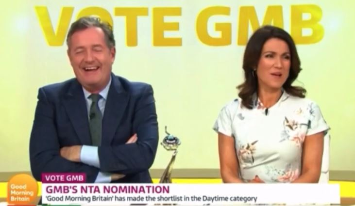 Piers was quickly called out on his rant. Credit: ITV/Good Morning Britain