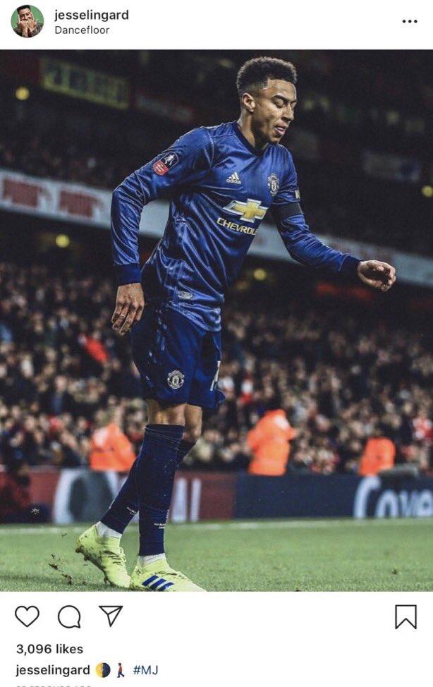 Fan Captures Jesse Lingard's Whole Celebration Vs  Arsenal - SPORTbible