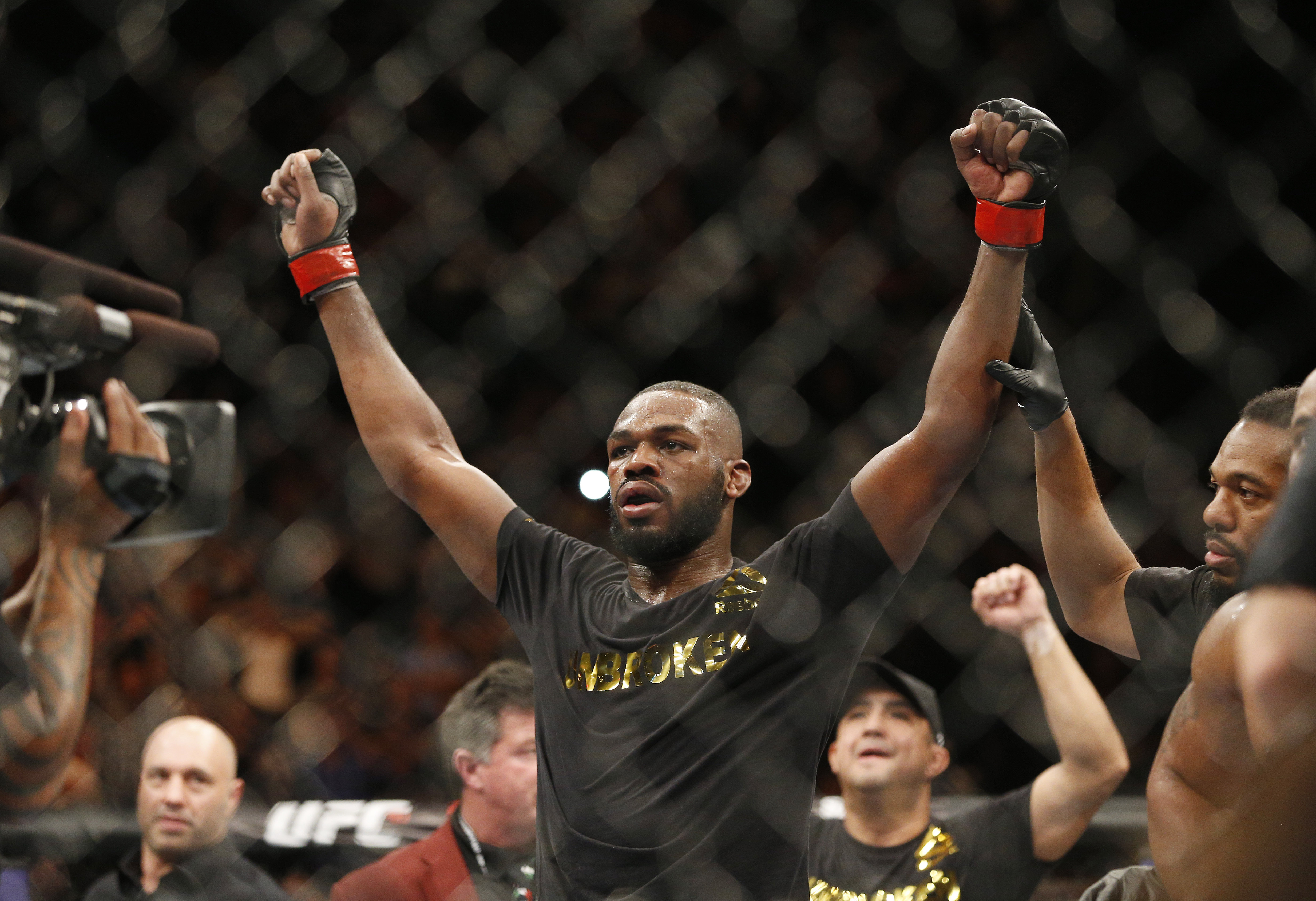Jon Jones is back in action. Image: PA Images