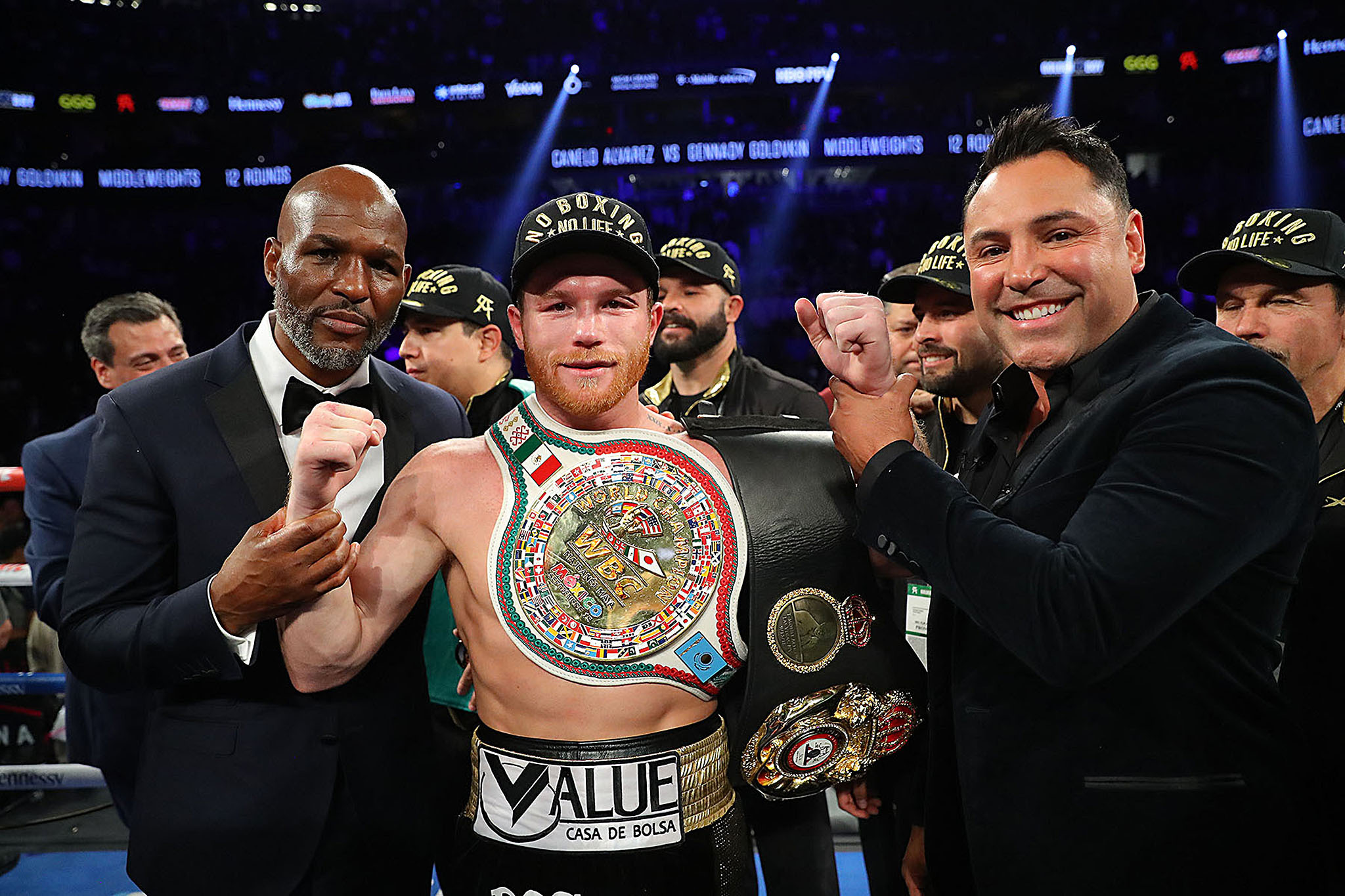 GGG Storms Out Of The Ring After Controversial Canelo