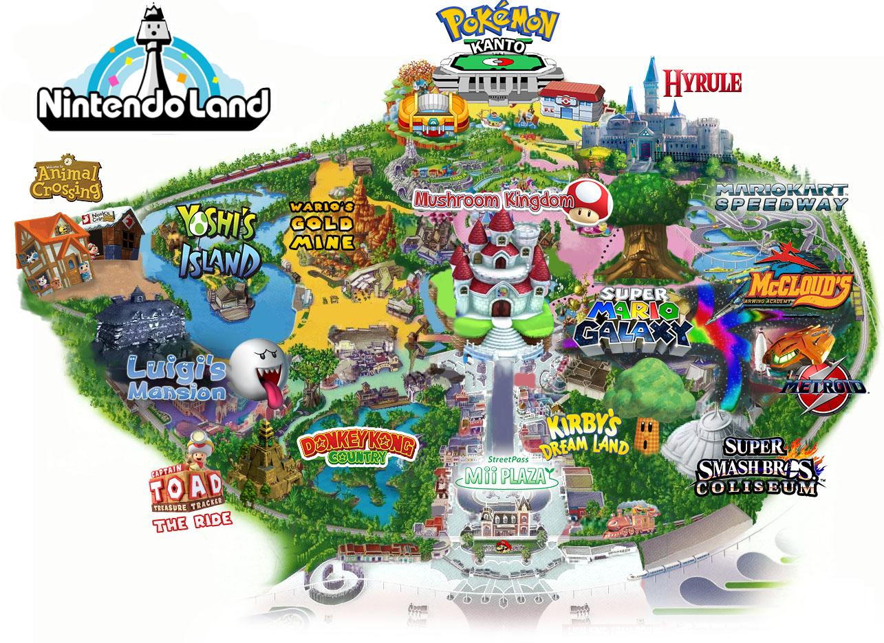 Nintendo Land Orlando
