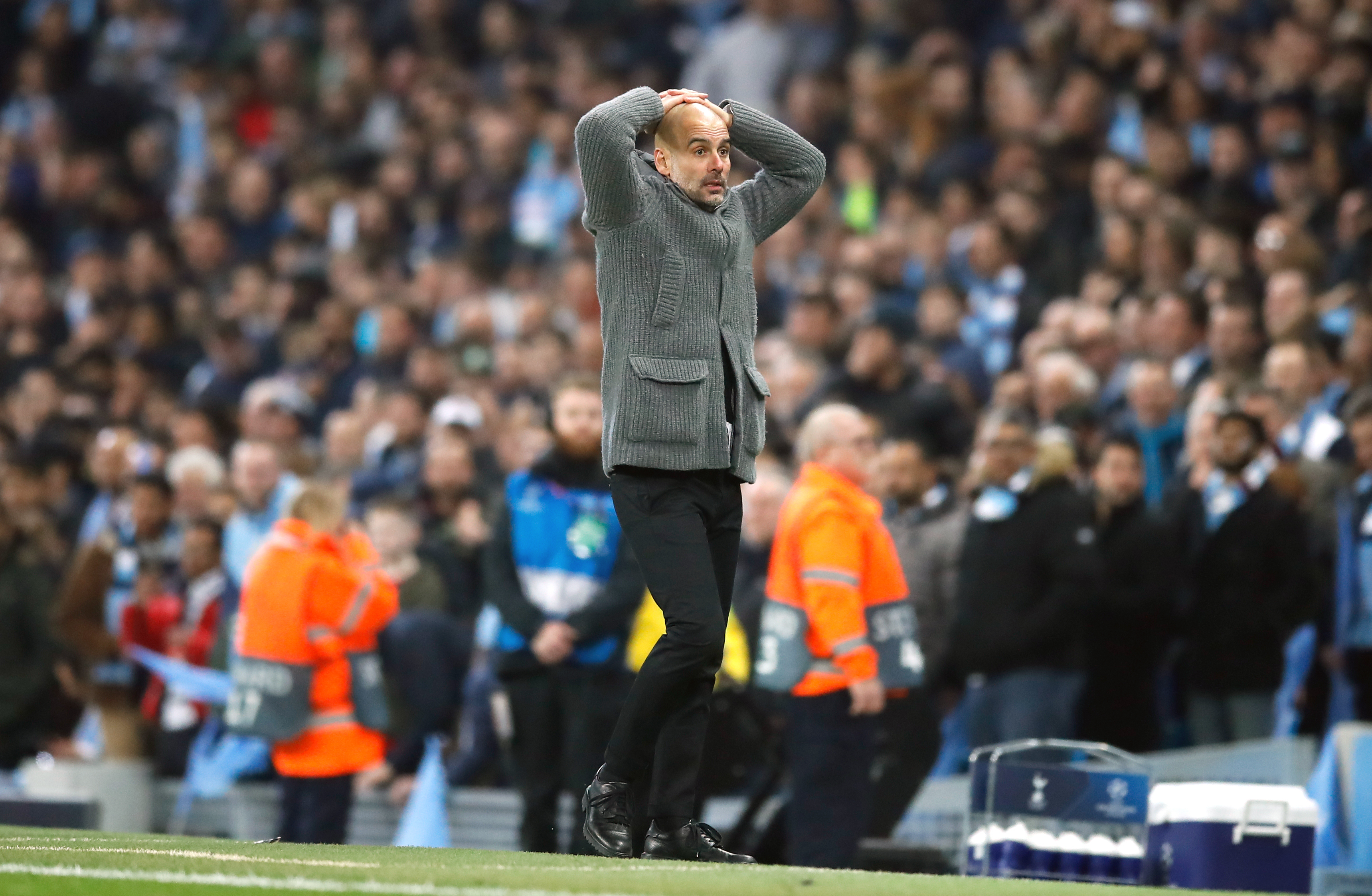 Guardiola wouldn't be able to believe his side had been banned. Image: PA Images