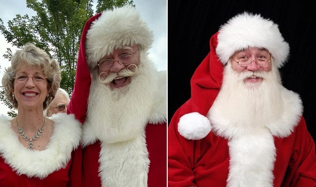 Terminally ill Child Dies In Santa's Arms After Asking Him For Help With His Illness