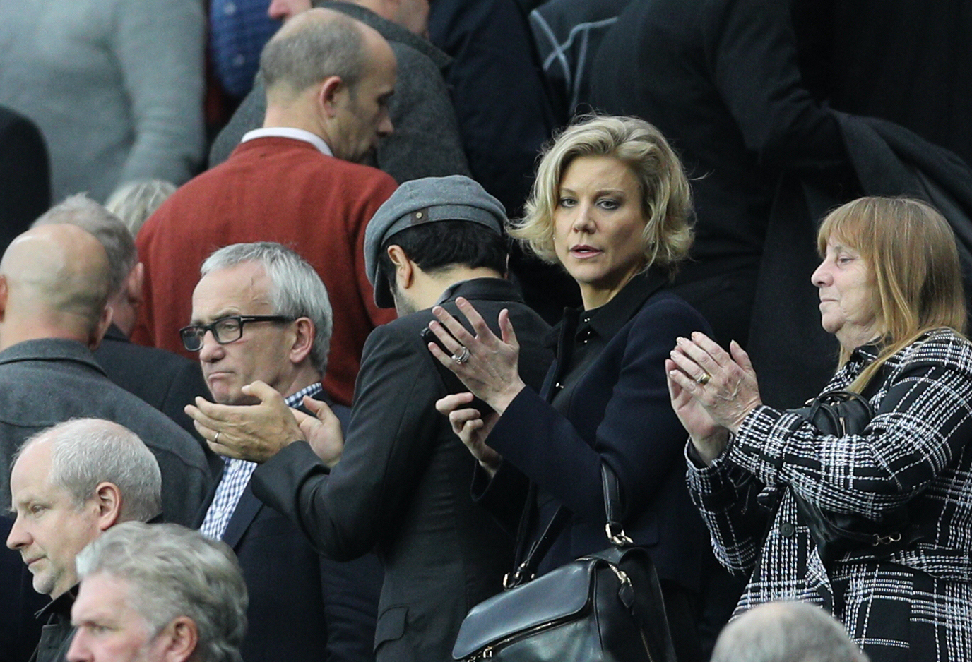 Billionaire Staveley spotted at Newcastle