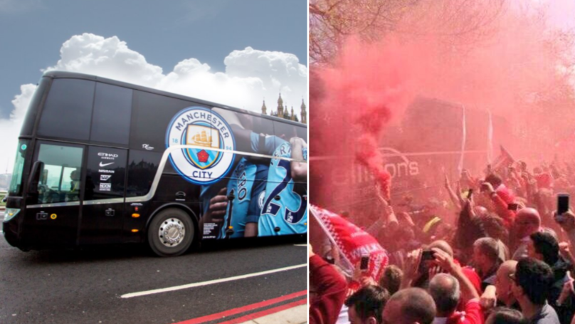 Liverpool Fans Create Poster Of Hostile Plans For Champions League Clash Against Manchester City