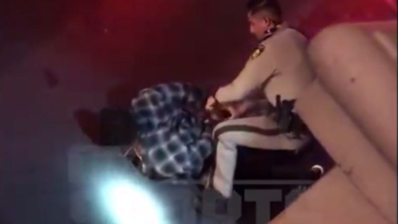WATCH: NFL Star Michael Bennett Held At Gunpoint By Police