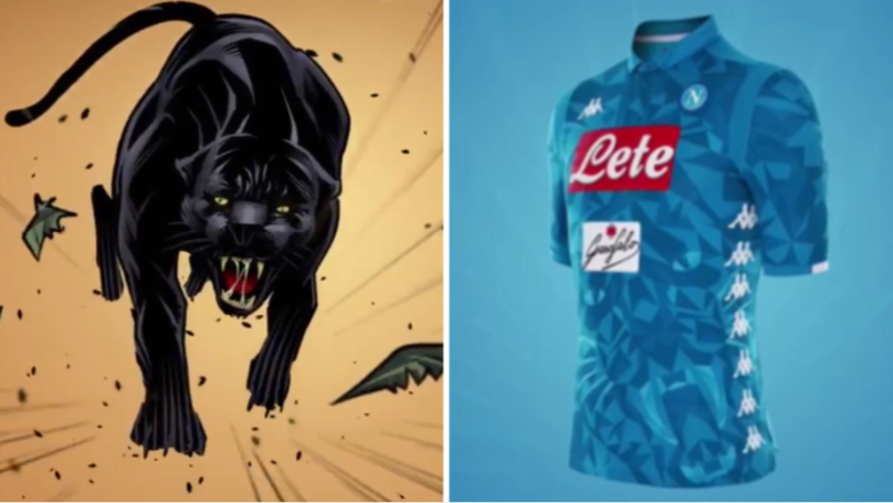 Napoli Reveal Wonderful New Kit With Weird Panther Video