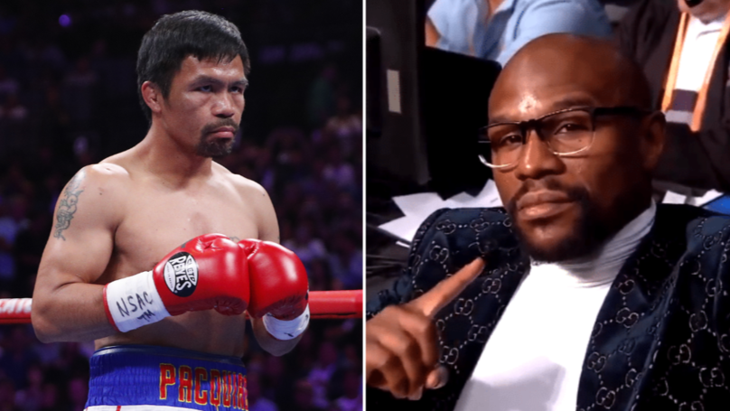 Team Mayweather Respond To Manny Pacquiao's Call-Out
