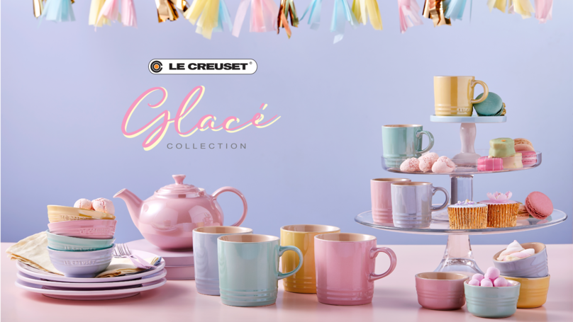 Le Creuset Launches Dreamy New Pearlescent And Pastel Homeware Collection