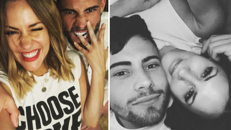 Caroline Flack Confirms She Is Engaged To Andrew Brady