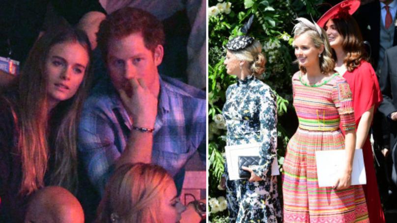 Prince Harry's Ex-Girlfriend Cressida Bonas Breaks Silence On Royal Wedding