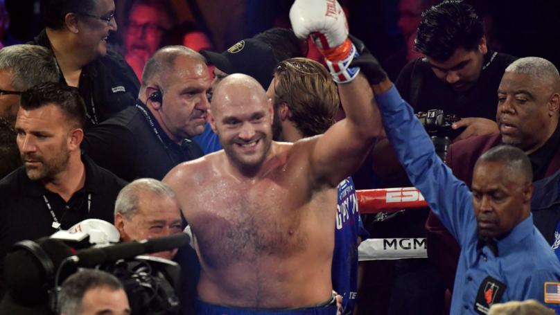 Tyson Fury Will Fight Otto Wallin In Las Vegas On September 14