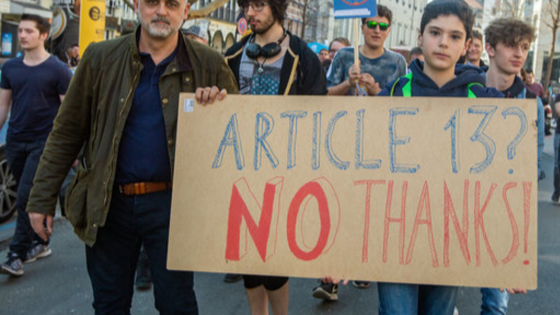EU Approves Controversial Online Copyright Law