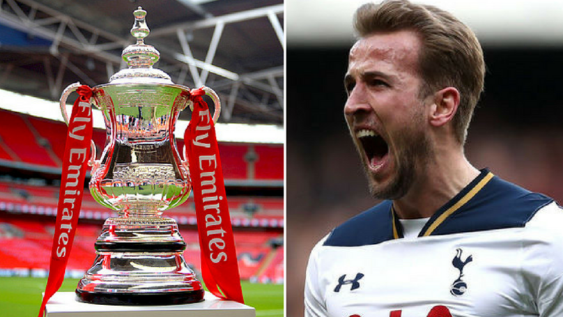 The Official FA Cup Twitter Account Mercilessly Trolled Harry Kane