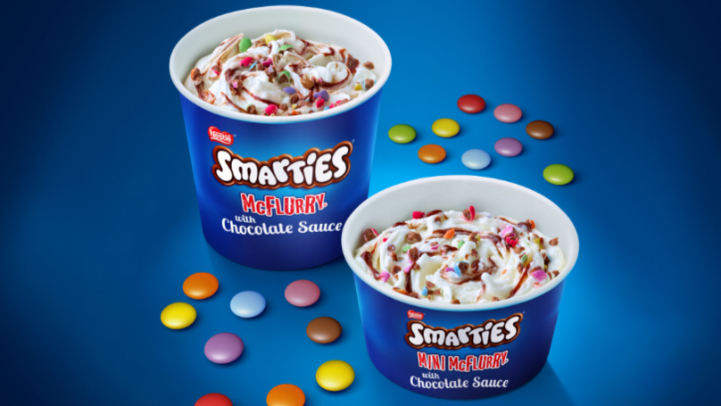McDonald's Is Bringing Back The Smarties McFlurry