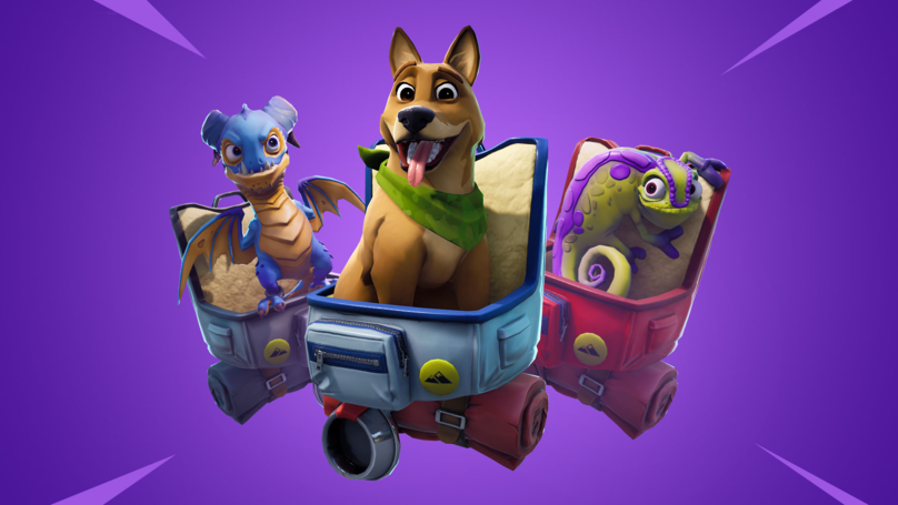 ​You Can Now Pet The Dog (And Other Animals) In 'Fortnite'