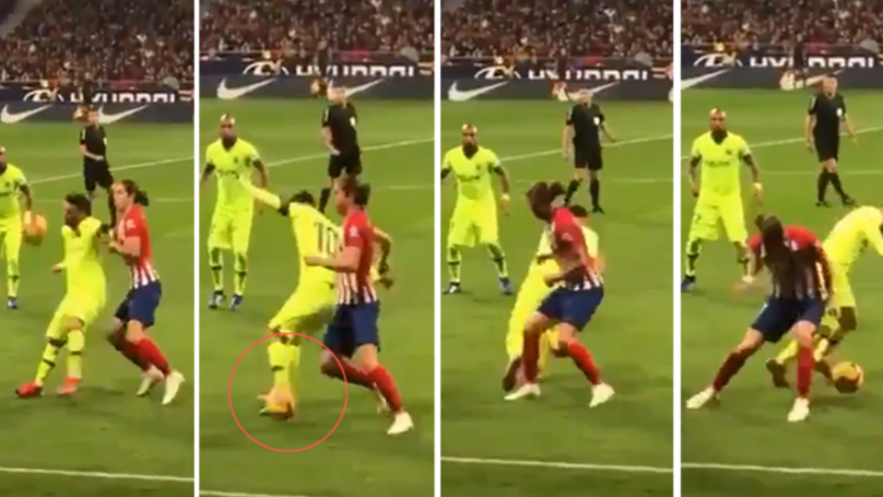 The Slow Motion Version Of Lionel Messi's 'Impossible' Nutmeg Is Football Porn
