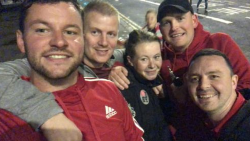Football Fans With Spare Ticket Take Homeless Woman To Game Then Buy Her Dinner