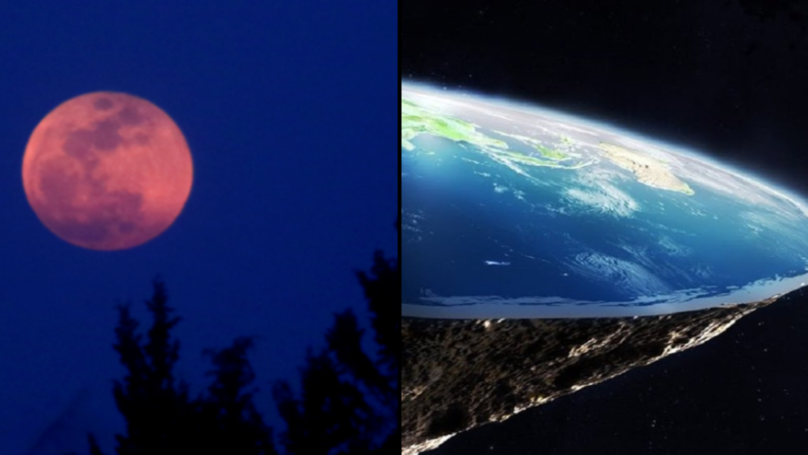 The Blood Moon Has Completely Put An End To The Flat Earth Theory