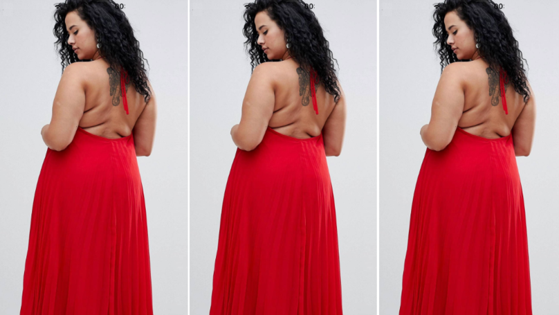 Shoppers Praise ASOS For Showing Model With Back Rolls