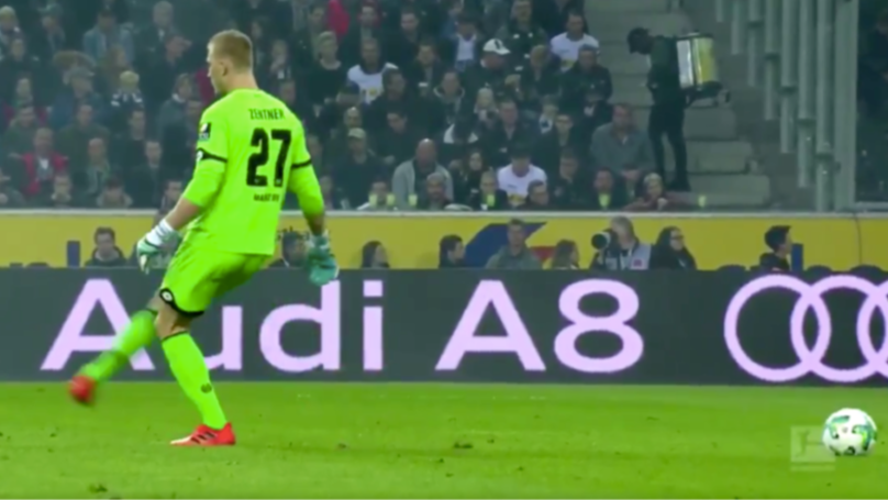 A Year Ago, Mainz Goalkeeper Robin Zentner Invented The 'Ghost Pass' By Accident
