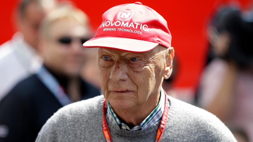 Three Time Formula One Champion Niki Lauda Has Died