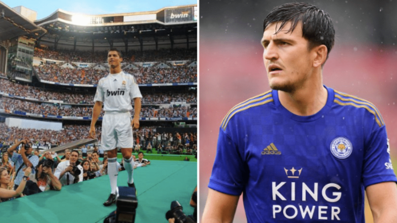 Harry Maguire's £85 Million Manchester United Move Knocks Ronaldo's Real Madrid Transfer Out Of Top Ten Deals