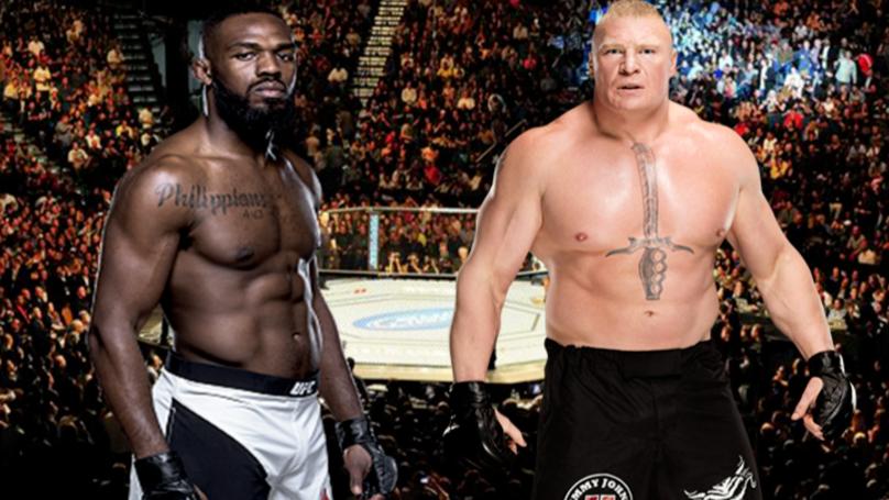Jon Jones Wants 'Huge Money Fight' Against Brock Lesnar