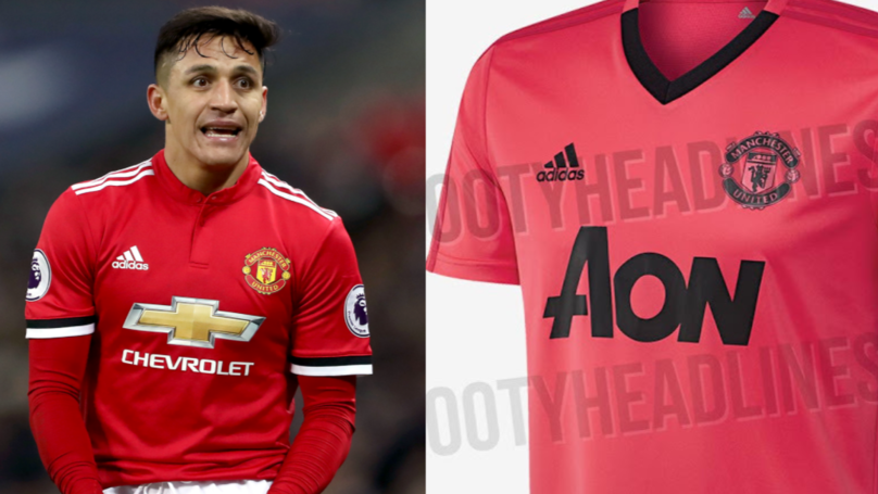 It Looks Like Manchester United Will Be Wearing Electric Pink Next Season
