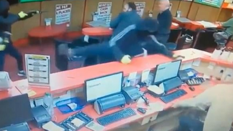 Fearless 83-Year-Old Punter Fights Off Three Armed Robbers At Bookmakers