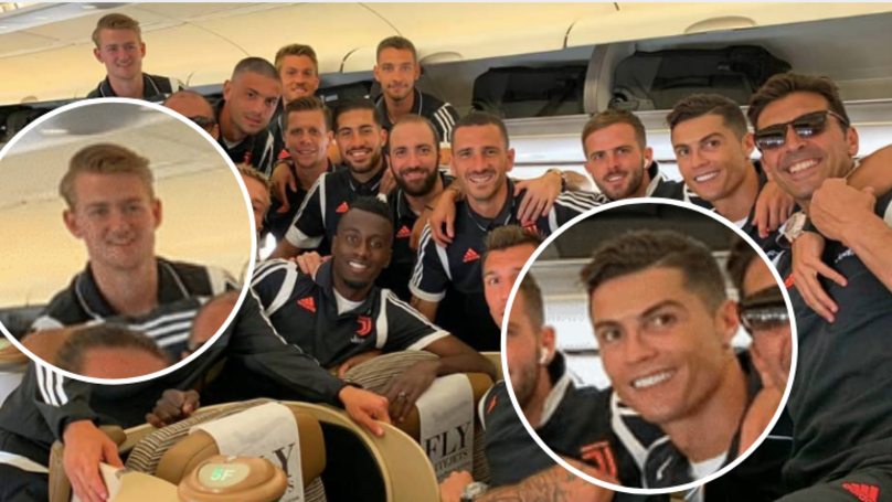 "Cristiano Ronaldo Introduced Himself To Matthijs De Ligt As ""Agent Ronaldo"" On First Day"