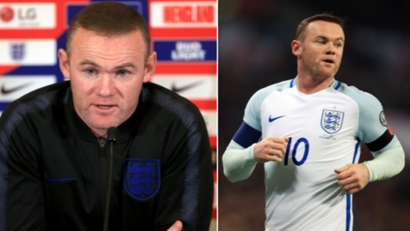 Wayne Rooney Reveals His Favourite England Goals