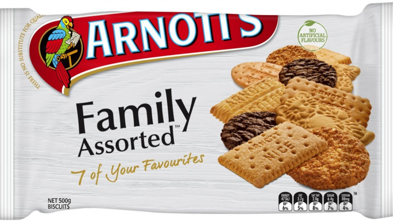 Butternut Snap Biscuit Crowned Australia's Favourite Arnott's Biccie