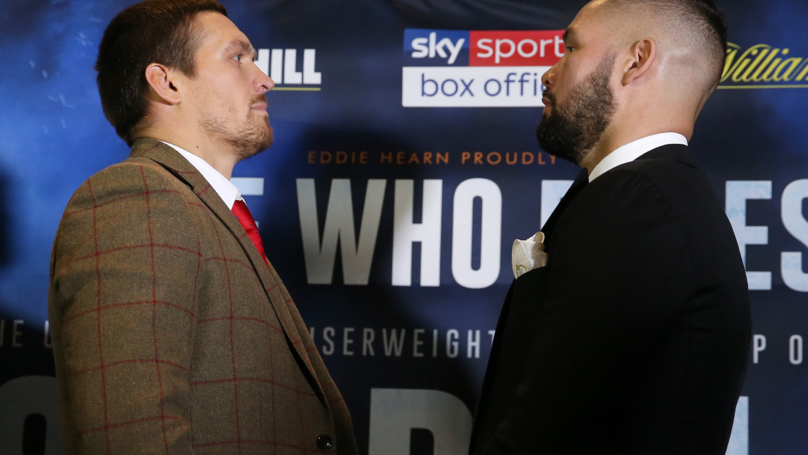 Huge Amount Of Punters Backing Underdog Bellew