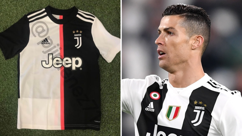 Juventus' Home Kit For Next Season Has Apparently Been Leaked