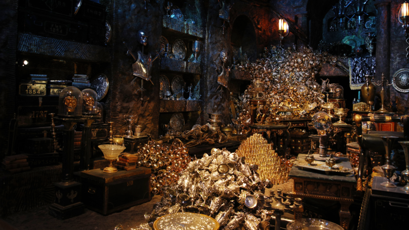 First Images From Inside The New Harry Potter Gringotts Bank Attraction