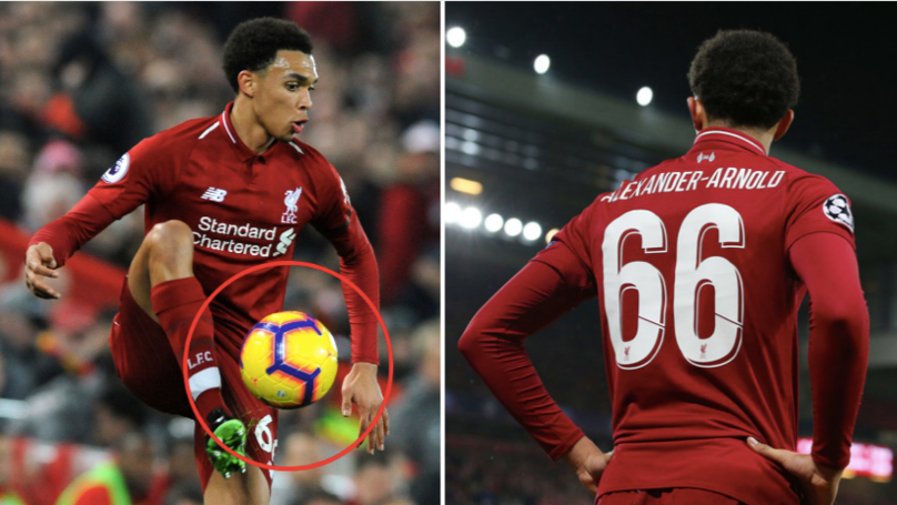 Trent Alexander-Arnold Is Getting Ripped To Shreds For Taking Home The Match Ball